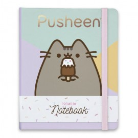 Notebook Premium A5 Spine Wire-O Pusheen 2
