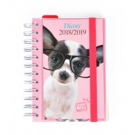 Agenda Escolar 2018/2019 Dp Wire-O Int Studio Pets Dog