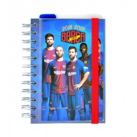 Agenda Escolar 2018/2019 Dp Wire-O Int Fc Barcelona