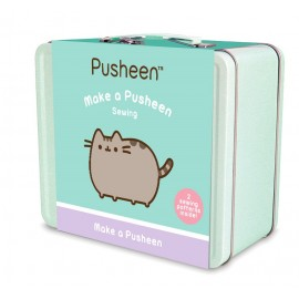 Maletin Metalico Kit Costura Pusheen