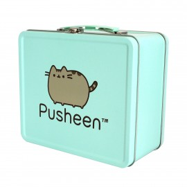 Maletin Metalico Pusheen Verde