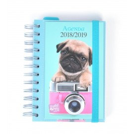Agenda Escolar 2018/2019 Dp Wire-O Studio Pets Dog