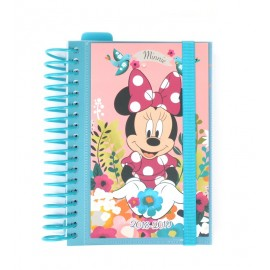 Agenda Escolar 2018/2019 Dp Espiral Mickey Minnie