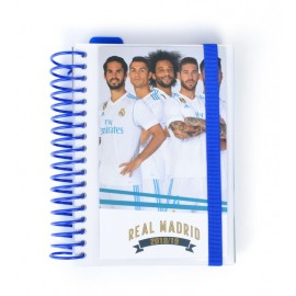 Agenda Escolar 2018/2019 Dp Espiral Real Madrid