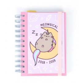 Agenda Escolar 2018/2019 Dp Wire-O Esp Pusheen The Cat