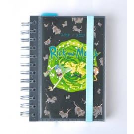 Agenda Escolar 2018/2019 Dp Wire-O Int Rick & Morty