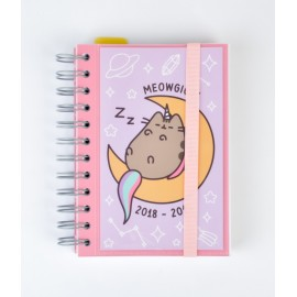 Agenda Escolar 2018/2019 Dp Wire-O Int Pusheen The Cat