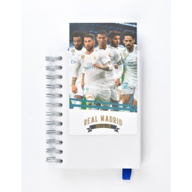Agenda Escolar 2018/2019 Dp Wire-O Int Real Madrid