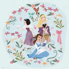 PRINT 30X30 CM DISNEY PRINCESS