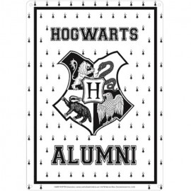 Chapa Metalica Harry Potter Hogwarts Alumni