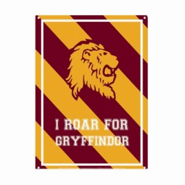 CHAPA METALICA HARRY POTTER ROAR GRYFFINDOR