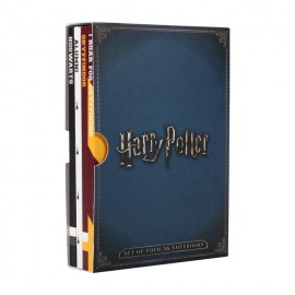Cuaderno A6 Set de 4 Harry Potter Varsity Mixed