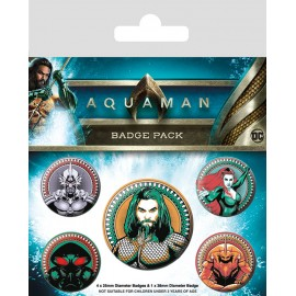 Pack Chapas Aquaman Heavy Hitters Of The Seas