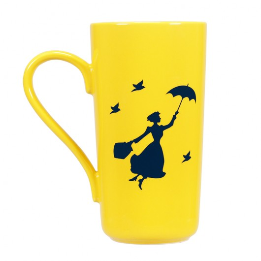 TAZA LATTE DISNEY MARY POPPINS PRACTICALLY PERFECT