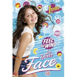 POSTER SOY LUNA FEEL THE WIND