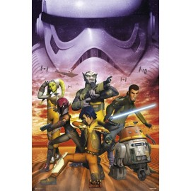 POSTER STAR WARS CLASSIC EMPIRE