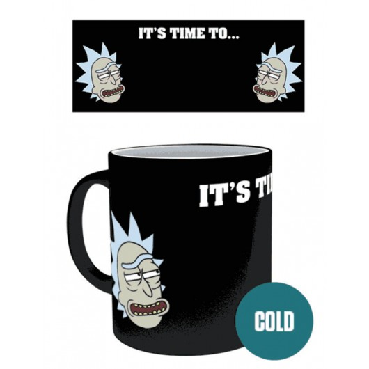 TAZA TERMOCOLORA RICK AND MORTY GET SCHWIFTY