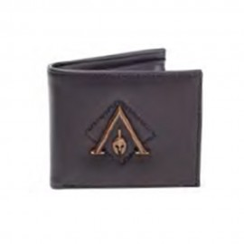 CARTERA ASSASSINS CREED ODYSSEY LOGO METAL