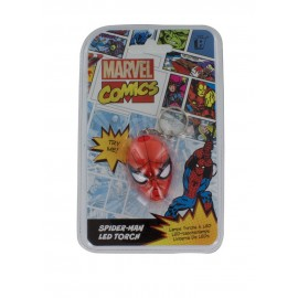 LLAVERO CON LUZ MARVEL COMICS SPIDERMAN