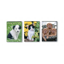 ALBUM FOTO SOFT 64 BOLSILLOS 10X15CM PUPPIES