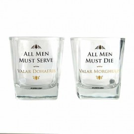 VASOS SET DE 2 GAME OF THRONES TUMBLERS
