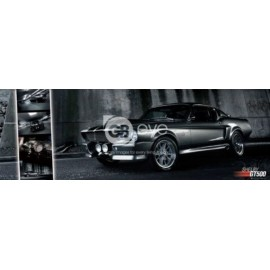 POSTER PUERTA FORD SHELBY MUSTANG