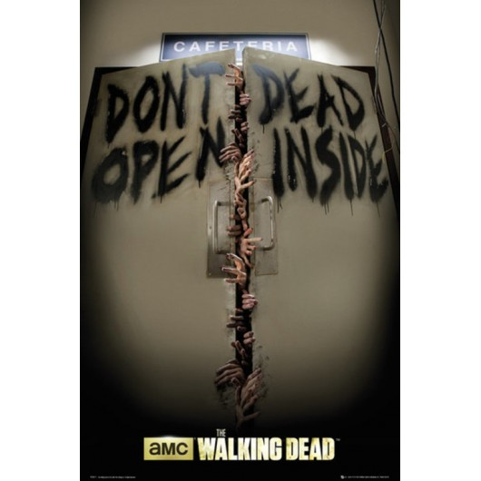 POSTER THE WALKING DEAD KEEP OUT