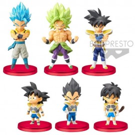 FIGURA SURTIDA DRAGON BALL WORLD COLLECTABLE SUPER MOVIE