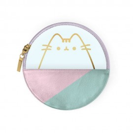 ESTUCHE REDONDO PU PUSHEEN THE CAT