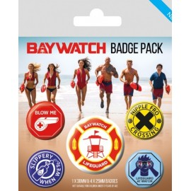 PACK CHAPAS BAYWATCH LIFEGUARD PATCH