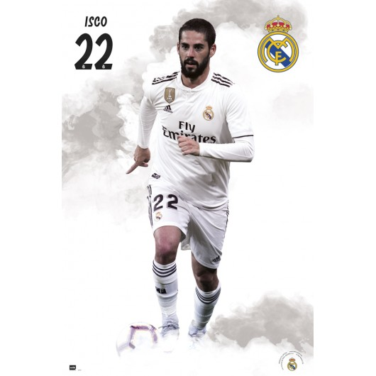POSTER REAL MADRID 2018/2019 ISCO