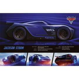 POSTER CARS 3 JACKSON STORM