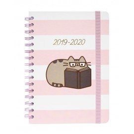 AGENDA ESCOLAR 2019/2020 A5 12 MESES PUSHEEN ROSE COLLECTION