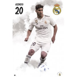 POSTER REAL MADRID 2018/2019 ASENSIO