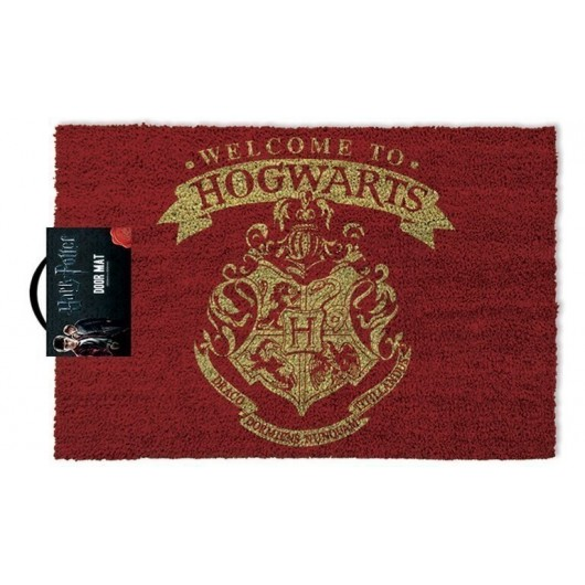 FELPUDO HARRY POTTER WELCOME TO HOGWARTS
