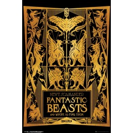 POSTER FANTASTIC BEASTS 2 BOOK COVER