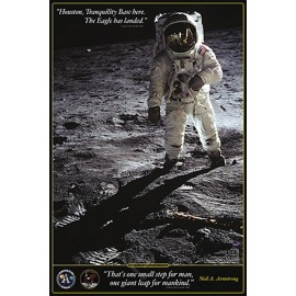 POSTER  HOBBY WALK ON THE MOON