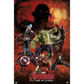POSTER MARVEL AVENGERS AGE OF ULTRON