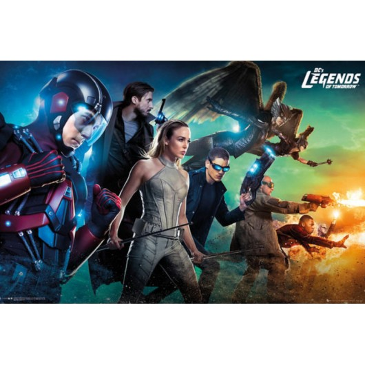 POSTER LEGENDS OF TOMORROW TEAM