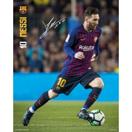 MINI POSTER FC BARCELONA 2018/2019 MESSI ACCION