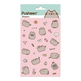 SET STICKERS PUSHEEN
