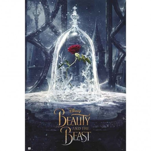 POSTER BEAUTY & THE BEAST ROSE