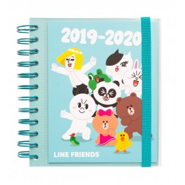 AGENDA ESCOLAR 2019/2020 DP M LINE FRIENDS
