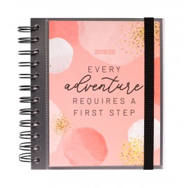 AGENDA ESCOLAR 2019/2020 DP M GLITTER GOLD DREAMS