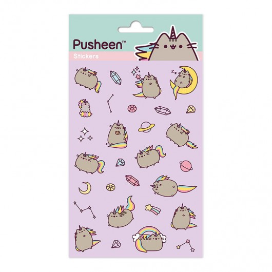SET STICKERS PUSHEENICORN