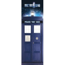 POSTER PUERTA DOCTOR WHO TRADIS