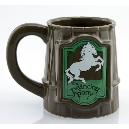 TAZA 3D LORD OF THE RINGS PRANCING PONY