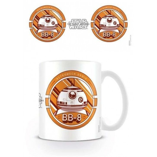 TAZA STAR WARS EP 7 BB8