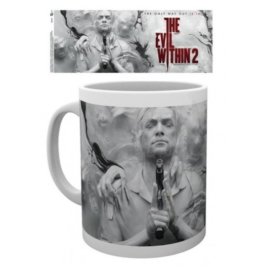 TAZA THE EVIL WITHIN 2 KEY ART