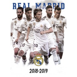 POSTAL REAL MADRID 2018/2019 GRUPO